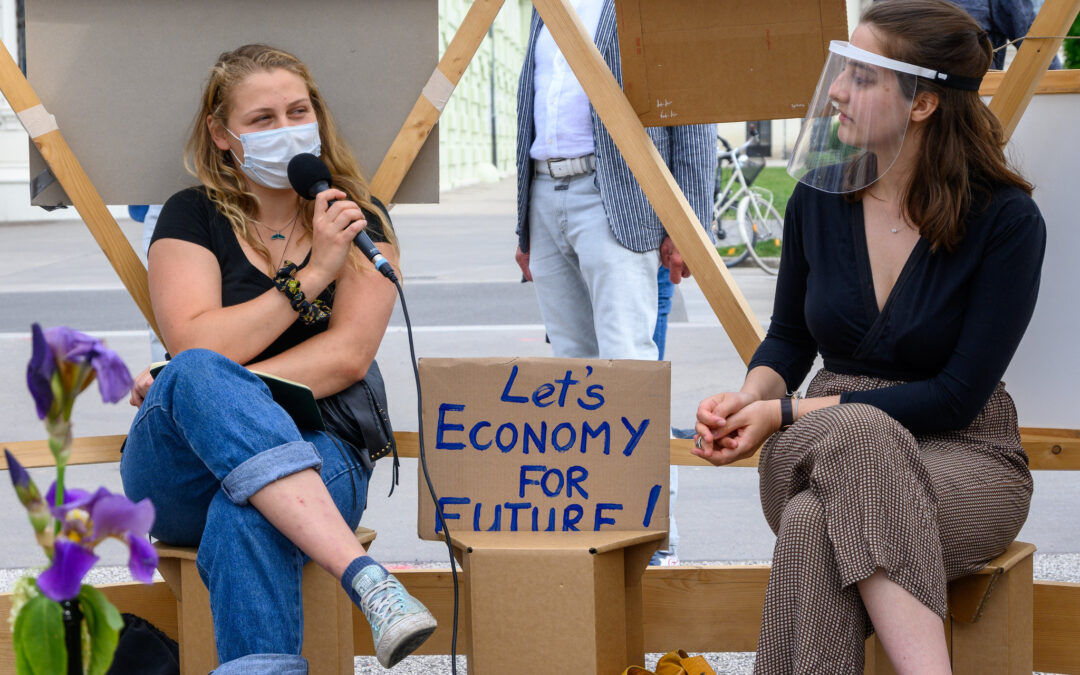 Dome-Talks mit Fridays for Future in Wien